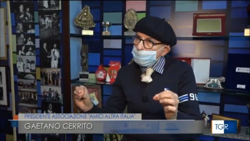Cerrito al TGR3 Campania